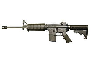 Colt AR15 Rifle AR6720, 556 NATO, 16 in, 4 Pos Collapsible Stock, Blk Finish, A3 Removable Carry Handle, 20 Rd, Lite Contour