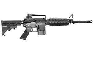 Colt M4 Carbine SP6920CA, 556 NATO, 16 in, 4 Pos Collapsible Stock, Blk Finish, 9 Rd, M4 w/ Flash Hider, Bullet Button, CA Approved