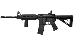 Colt M4 Sporter Carbine SP6920MPB, 556 NATO, 16 in, Magpul MOE Stock, Blk Finish, Magpul Backup Flip Sight, 30 Rd, M4 w/ Flash Hider
