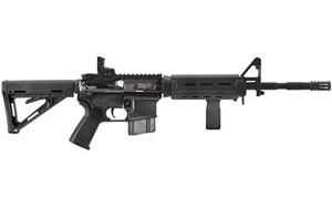 Colt M4 Sporter Carbine SP6920MPBCA, 556 NATO, 16 in, Magpul MOE Stock, Blk Finish, Magpul Backup Flip Sight, 10 Rd, M4 w/Flash Hider