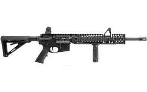 Daniel Defense Model DDM4 Rifle 20000CC, 5.56 NATO, 16 in, Magpul MOE Stock, Blk Finish, DD A2, 10 Rd, Hamm Forged, Bullet Button, CA Approved