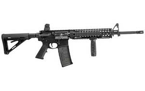 Daniel Defense Model DDV6 Rifle DA20368, 6.8 Spc, 16 in, Magpul MOE Stock, Blk Finish, 30 Rd, Hamm Forged
