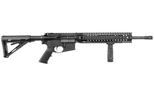 Daniel Defense Model DDV5 Rifle DA08047NSCC, 5.56 NATO, 16 in, Magpul MOE Stock, Blk Finish, Flat Top, 10 Rd, Hamm Forged, Bullet Button, CA Approved