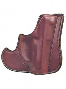 "Don Hume 001 Front Pocket Holster Ambidextrous Brown 2"" S&W J Frame, Taurus 85 J100100R"
