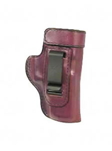 "Don Hume Clip On H715M Holster Left Hand Brown 3.25"" Sig 230, 232 Leather J168042L"