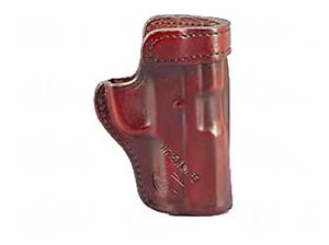 "Don Hume Clip On H715M Holster Left Hand Brown 4.25"" S&W SW9M (SIGMA 9M) J168210L"