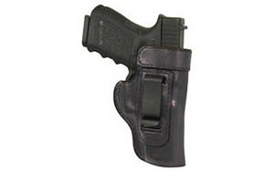 Don Hume H715M Body Shield Belt Holster Right Hand Black Glock 19/23/32 Leather J168903R