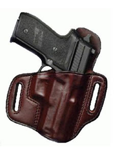"Don Hume Double 9 OT H721OT Holster Right Hand Brown 4"" Glk 19, 23 J336058R"