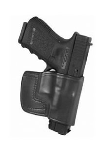 Don Hume JIT Slide Holster Right Hand Black Keltec P32/P3AT Leather J966630R