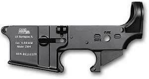 DSA AR Stripped Lower 223 Remington 16 in Black ZM4R
