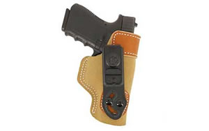 Desantis 106NAO2Z0 106 Sof-Tuck Inside the Pant Right Hand Tan S&W J-Frame Leather
