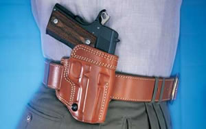 Galco AV266 Avenger Belt Holster Right Hand Tan 4.25 in 1911