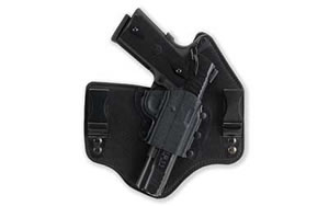 Galco KT218B KingTuk Inside the Pant Right Hand Black 3 in 1911 Kydex and Leather