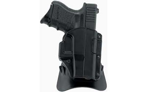 Galco M4X424 M4X Paddle Holster Right Hand Black 3 in 1911 Kydex