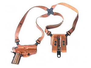 Galco MC292 Miami Classic Shoulder Holster Right Hand Tan 4 in HK USP