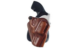 Galco SPD300 Speed Paddle Paddle Holster Right Hand Black/Tan Ruger LCR Leather