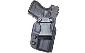Galco TR212 Triton Inside the Pant Right Hand Black 5 in 1911 Kydex