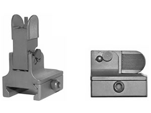 GG&G Front Flip-up for Dovetail Gas Blocks AR-15 Black GGG-1023