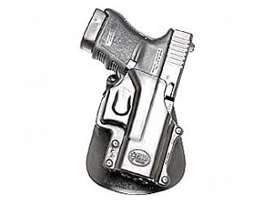 Fobus GL4LH Paddle Holster Left Hand Black 3.25 in Glk29, 30