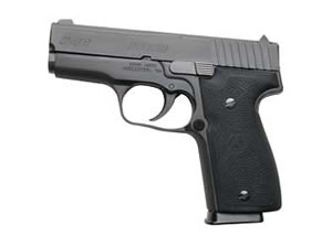 Kahr Model K40 Compact Pistol K4044N, 40 S&W, 3.5 in, Polymer Grips, Matte Finish, Night Sights, 6 Rd, 2 Mags, DAO