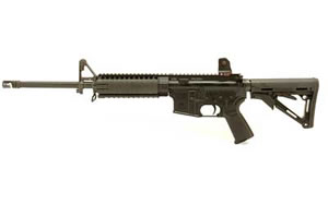 LWRC Special Teams Rifle M6A1R5B16, 5.56 NATO, 16 in, Magpul CTR/MOE Stock, Blk Finish, Daniel Defense Fixed, 30 Rd, Hammer Forged, Rail/Piston