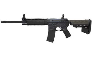 LWRC Special Teams Rifle M6A2R6B16, 6.8 MM, 16 in, Vltor Stock, Blk Finish, 30 Rd, Hammer Forged, Rail/Piston