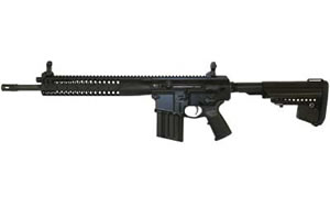 LWRC REPR Rifle REPRR7B16, 7.62 NATO, 16 in, PRS Stock, Blk Finish, 20 Rd, Hammer Forged, Piston/Rail