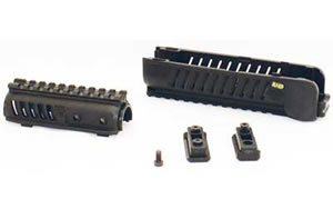 Mako SA58 Upper/Lower Handguard Black For VZ-58