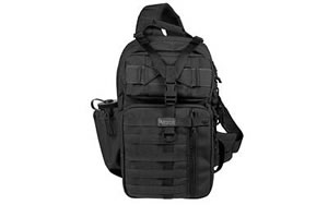 "Maxpedition Gearslinger Kodiak Backpack Black Soft 17""X10""X4"" 0432B"