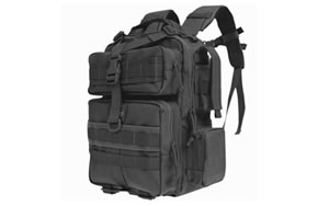 Maxpedition 0529B Typhoon Backpack Black Soft 13x9.5x4.5 in