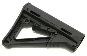 Magpul CTR Compact/Type Restricted Stock Black Non Mil-Spec AR-15 MAG311-BLK