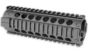Midwest MCTAR20P Free-Float Forearm Black AR15 Piston Carbine 7 in