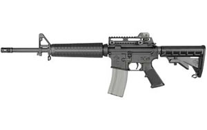 Rock River Arms Elite CAR Rifle AR1225, 5.56 NATO, 16 in, Hogue/6Pos Stock, Blk Finish, 30 Rd, 1:9 Mid Length, Tac Handle