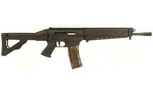 Sig Sauer Model 522 Rifle R52216BCSCPOE5X, 22 LR, 16 in, Syn Stock, Blk Finish, 25 Rd, w/5x Scope