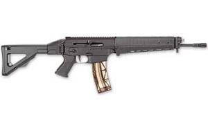 Sig Sauer Model 522 Rifle R522BBLCOMBO, 22 LR, 16 in/20 in Bull BBL, Folding Stock, Black Finish, 25 Rd, Folding