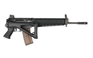 Sig Sauer R551 Rifle R551A1F16BCRD, 5.56 x 45, 16 in, Side Folding Stock, Blk Finish, Diopter, 30 Rd