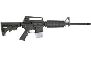 Sig Sauer Model M400 Rifle RM40016BCCA, 5.56 x 45, 16 in, Syn Stock, Blk Finish,10 Rd, Bullet Button, CA Approved