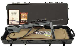 Steyr JC Cooper Pkg Scout Rifle 26346312S001, 308 Win, 19 in, Syn Stock, Blk Finish, Heavy BBL, w/ACCS