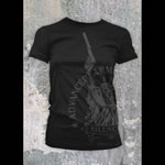 Advanced Armament Apparel Large Black Libertee T-Shirt 100526