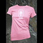 Advanced Armament Apparel Large Pink Restroom T-Shirt 101325