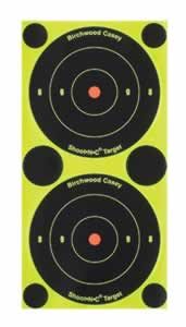 Birchwood Casey 34375 Shoot-N-C Bull's-Eye Packs 240 Pasters