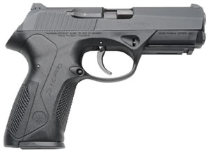Beretta Model Px4 Full Size Pistol JXFC20, 40 S&W, 4 in, Backstrap Grip, Black Finish, 10 + 1 Rd