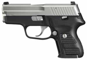 Sig Sauer Model P224 Pistol 224357NSSDAK, 357 Sig, 3.5 in, Wood Grip, Nickel Finish, 10 + 1 Rd, Night Sights, DAK Trig