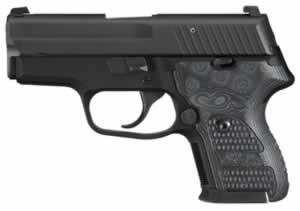 Sig Sauer Model P224 Pistol 224357XTMBLKGRYDAK, 357 Sig, 3.5 in, Hogue Extreme G10 Grip, 2 Tone Finish, 10 + 1 Rd, DAK Trig