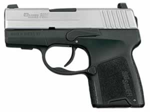 Sig Sauer Model P290 Pistol 290RS9TSS, 9 mm, 2.9 in, Interchange Poly Grip, 2 Tone Finish, 6 + 1 Rd/8 + 1 Rd
