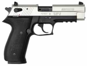 Sig Sauer Mosquito Pistol MOS22TCA, 22 LR, 3.9 in, Black Poly Grip, 2 Tone Finish, 10 + 1 Rd