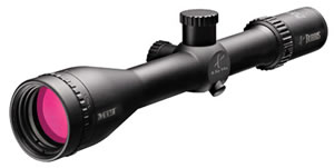 Burris MTAC Rifle Scope 200463, 4-14x, 42mm Obj, 30mm Tube Dia, Matte Black, G2B Mil-Dot Reticle