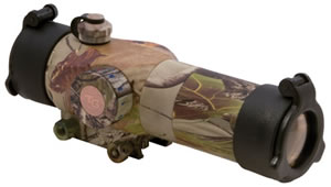 Truglo TG8230GA Red Dot 1x 30mm Obj Unlimited Eye Relief 5 MOA Realtree APG