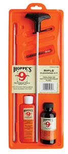 Hoppes U243B Rifle Cleaning Kit 243/6mm Clam Pack