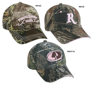 Outdoor Cap PNK1 Pink 1 Ladies Caps Realtree AP/Mossy Oak Infinity 1 Dozen